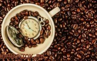 Когда лучше всего принимать кофе с пользой для здоровья