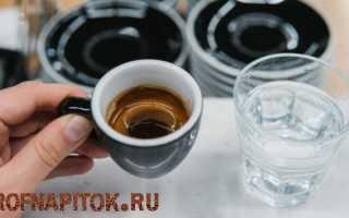 Почему нужно пить воду после кофе?