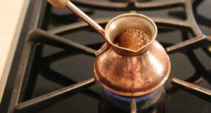 Как правильно заваривать кофе в турке?