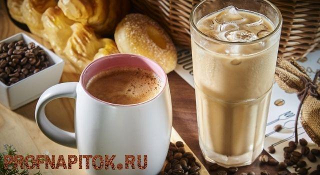 кофейные напитки с молоком
