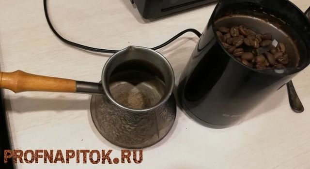 вьетнамский кофе в турке