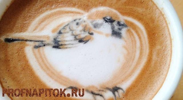 самые необычные рисунки на кофе
