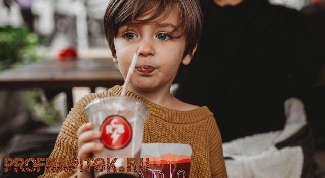 влияние кофеина на ребенка