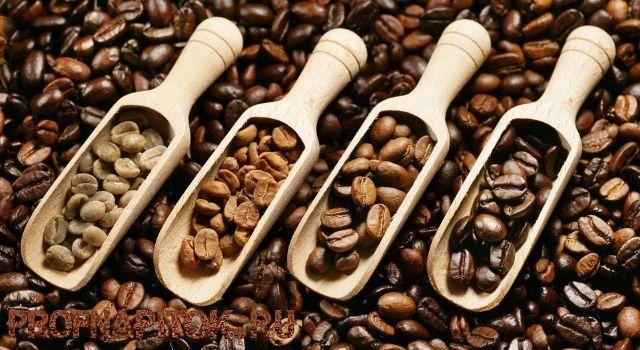 Средняя обжарка кофейных зёрен