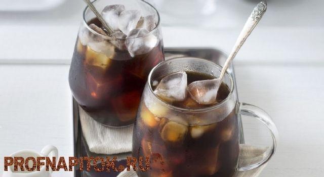 Рецепт орехового кофе со льдом