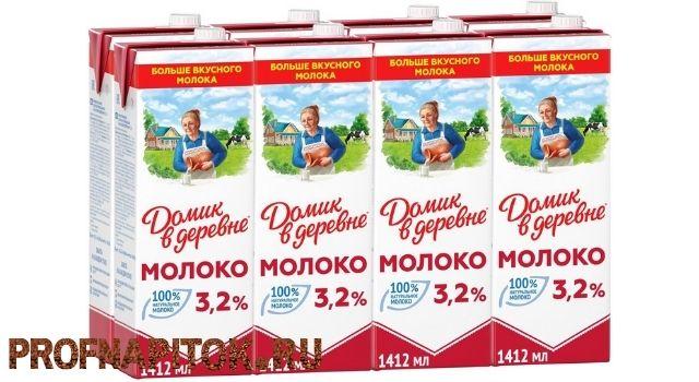 молоко для капучино Домик в Деревне