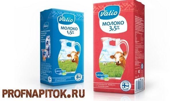 молоко для капучино Valio