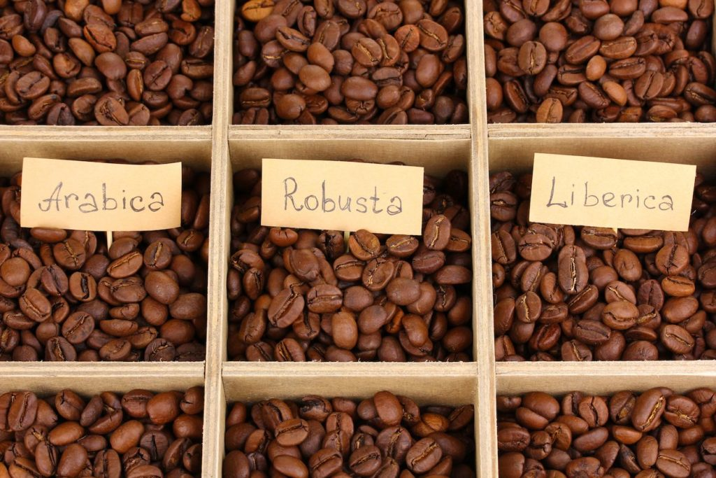 Кофе Арабика Робуста Либерика